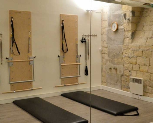 Pilates mats and Pilates Springboards at Paris Pilates