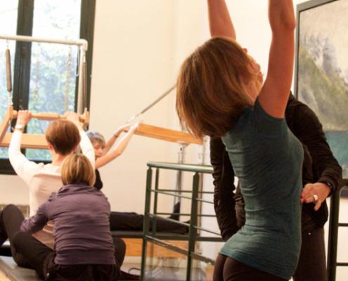Paris Pilates, exercices